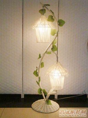 创意时尚台灯感受唯美浪漫钻夹头